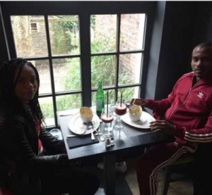 Vincent Enyeama Shares Adorable Photo With His Wife